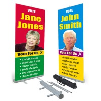 Election Roll Up Banner