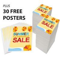 Trade Priced Leaflets with 30 FREE Posters
