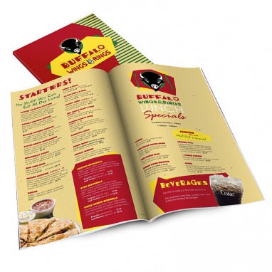 Table Menus Multi-Page