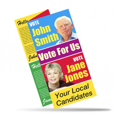 Election Folded Leaflets 150gms