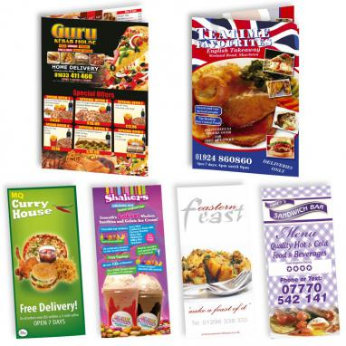 A3 Folded Menu Leaflet Deal with 30 Free A3 Posters