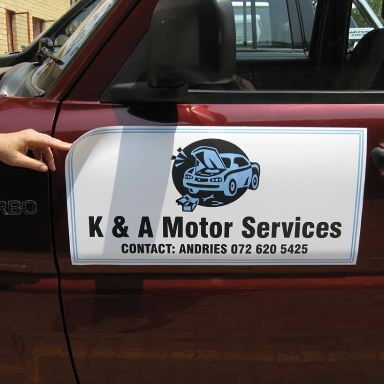Magnetic Van Signs Amp Custom Car Magnetics For Doors