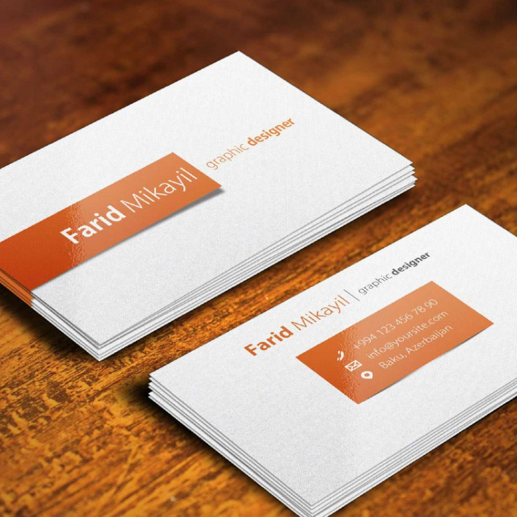 Silk matt laminated business cards ecolour print gloss laminated business cards reheart Images