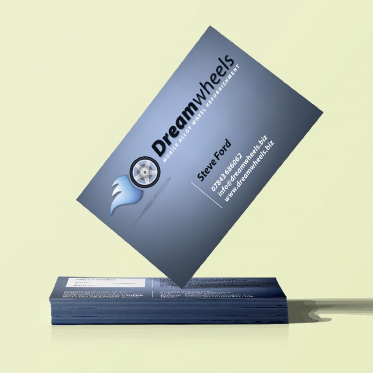 Standard business cards on 350gms ecolour print business cards reheart Images