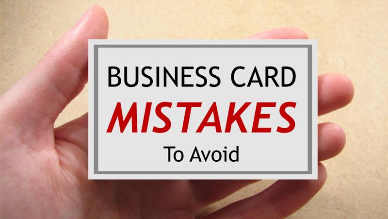 21 business card mistakes to avoid ecolour print colourmoves