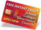 free instant credit