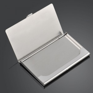 Business Card Holder Chrome