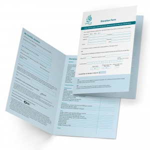 Folded Business Forms