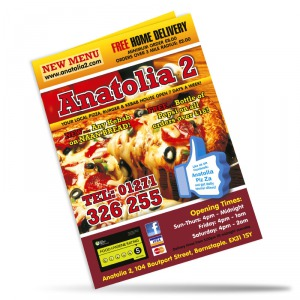 Card Flyers - Folded 250gms