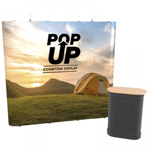 Straight Pop Up Display