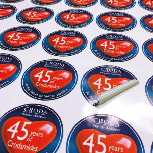 Round or Oval Vinyl Labels