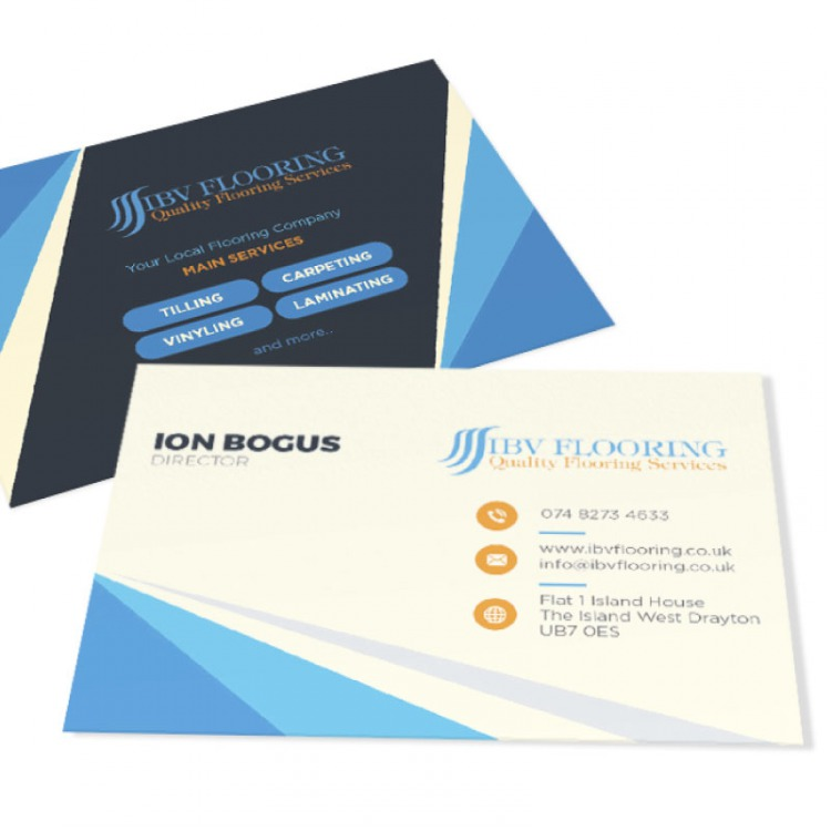 Ivory Business Cards