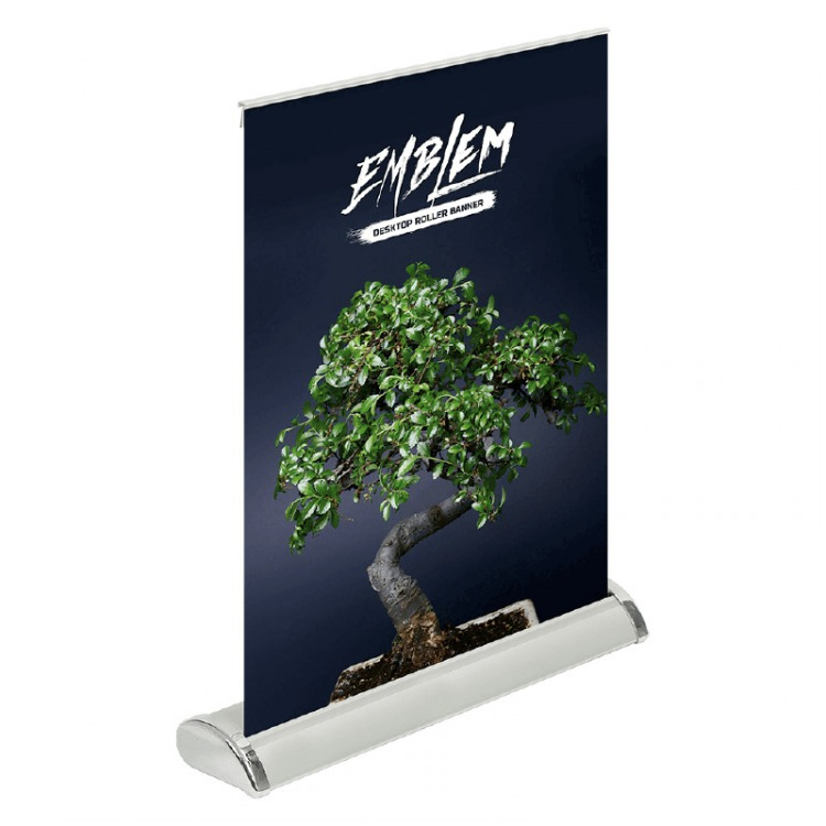 Mini Desktop Roll Up Banner For Table Top Or Counter
